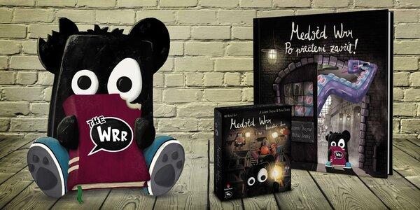 Medvěd Wrr: ilustrovaná kniha i karetní hra