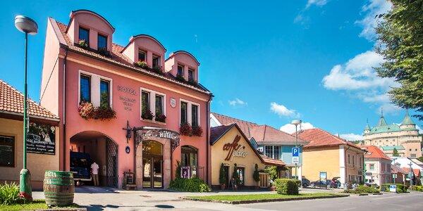 Romance ve vinařském hotelu s privátním wellness