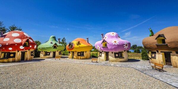 Už jste někdy bydleli v houbičce? Teď můžete