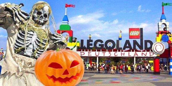 Halloween v německém Legolandu: doprava i atrakce