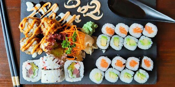 Set s 28 kousky sushi: s tuňákem i avokádem