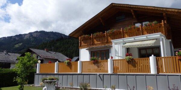 Dovolená v rakouských Alpách, český penzion