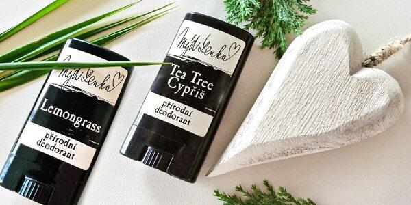 Ručně vyrobené přírodní deodoranty české značky