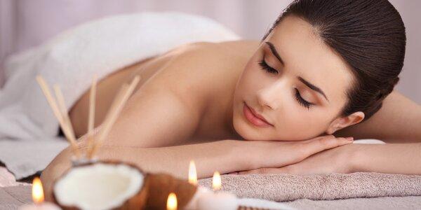 Luxusní balíček pro dámy: masáž a péče o nehty