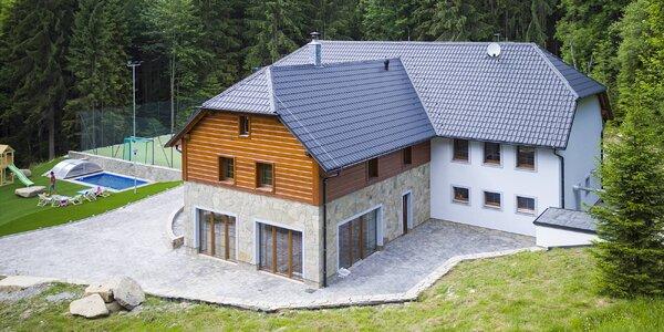 Moderní apartmány kousek od Lipna až pro 6 osob