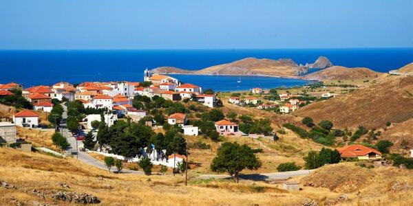 Řecký ostrov Thassos letecky: studio u pláže