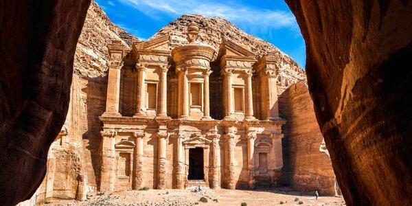 Jordánsko a bájné město Petra: letecky na 4 noci