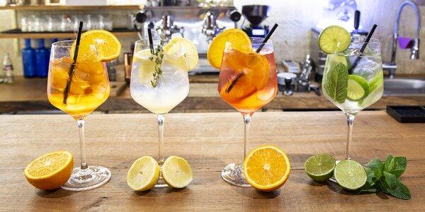 Degustace originálních koktejlů a spritzů pro dva