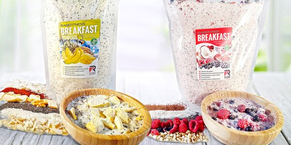 RageFitness Breakfast: rýžové kaše pro dobré ráno