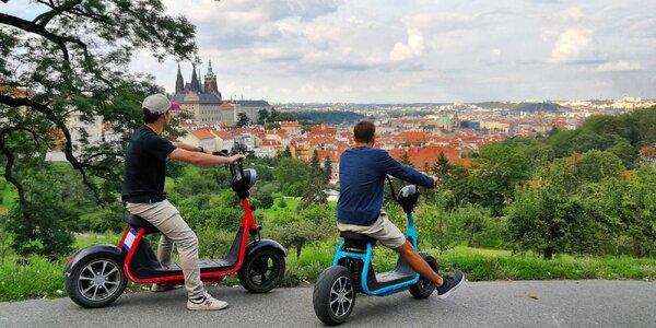 1–2hodinová jízda Prahou na elektrické koloběžce