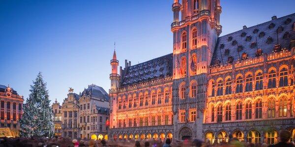 Adventní Bruggy se zastávkou v Bruselu