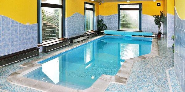 Dovolená na Lipně s polopenzí, saunou i bazénem