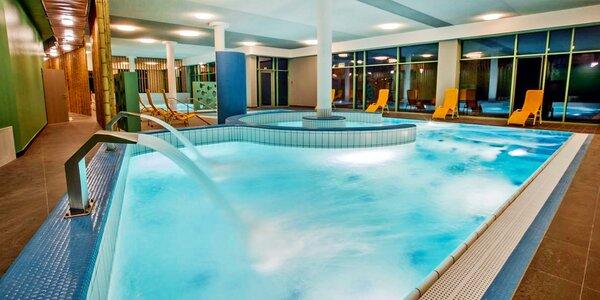Pobyt v termálním resortu: velký wellness a jídlo