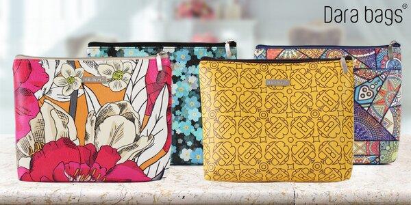 Prostorné designové kosmetické taštičky Dara bags