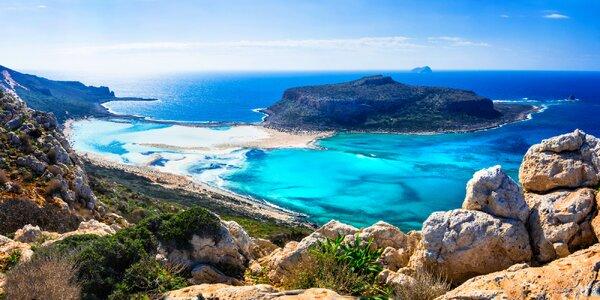 Letecky na 8 nebo 15 dní na Krétu i s polopenzí
