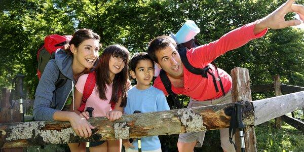 Jeseníky až pro 4 dospělé a 2 děti do 11,9 let