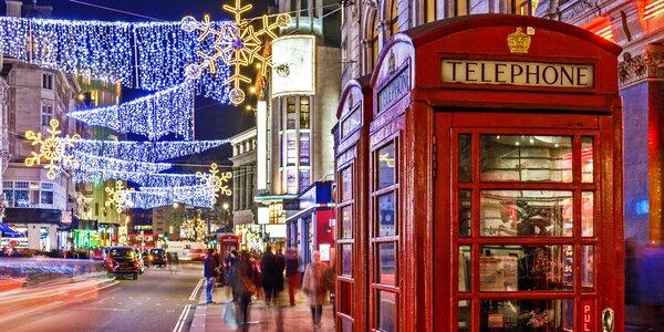 Adventní zájezd do Londýna: autobusem na 1 noc