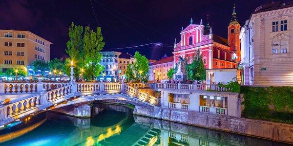 5denní poznávací zájezd za krásami Slovinska