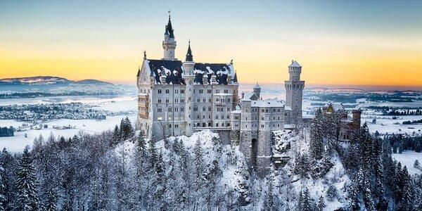 Advent na zámku Neuschwanstein a v Regensburgu