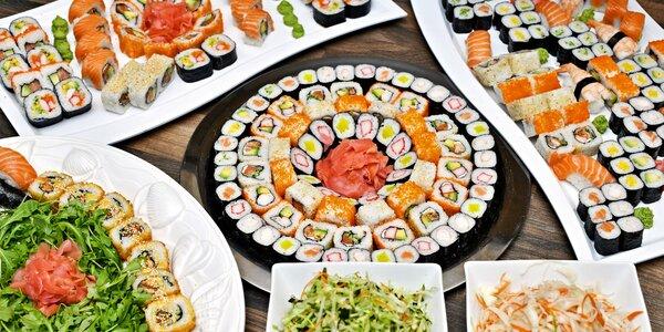 Neomezená konzumace ze sushi baru na Střeláku
