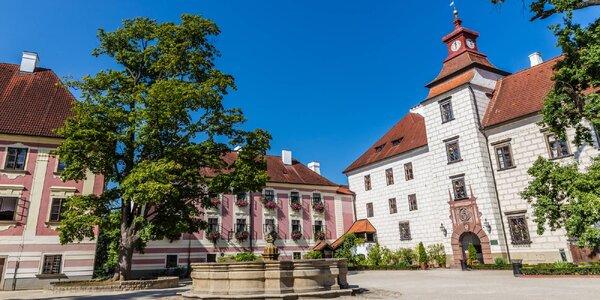 Babí léto i podzim v Třeboni se snídaní i vstupy