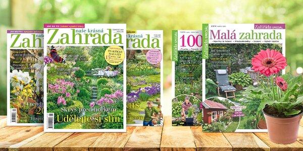 Předplatné časopisu Naše krásná zahrada + bonus
