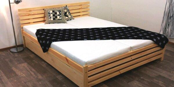 Postel z masivu: 5 různých šířek i v setu s matrací