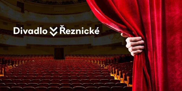 40% sleva na 2 vstupenky do Divadla v Řeznické