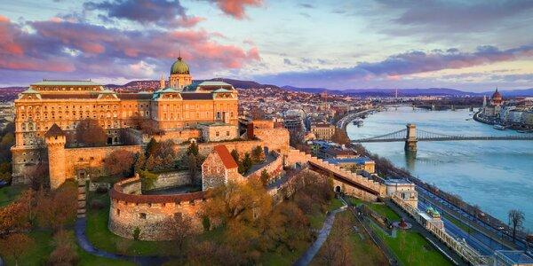 Až 8 dní v Budapešti se snídaněmi a wellness