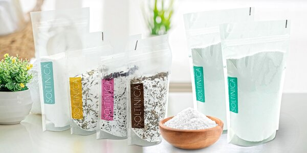 Epsomská sůl do koupele pro regeneraci těla