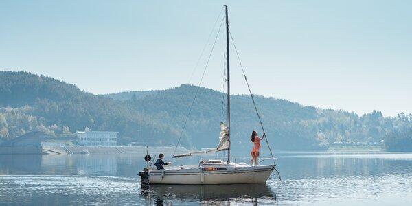 Pronájem jachty na Orlíku na 1-3 dny