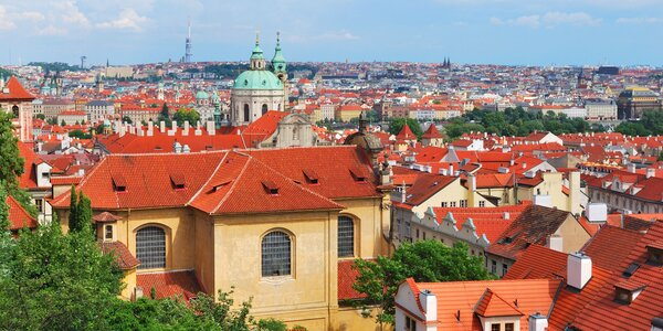 Pobyt s večeří na pražské Královské cestě