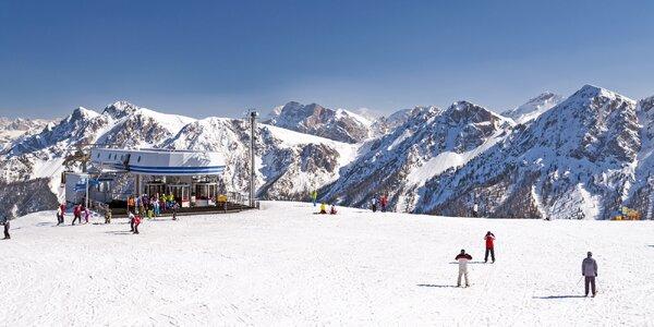 Dolomity s lyžováním, ubytováním i polopenzí