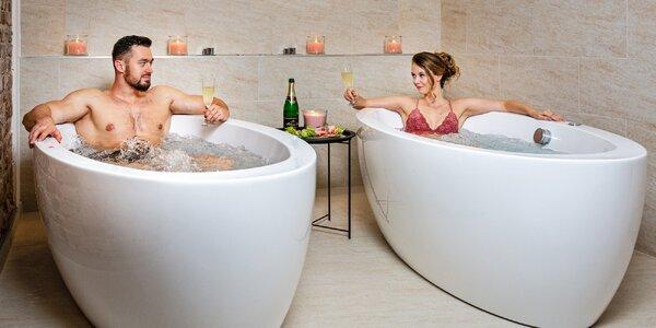 Romantika blízko Varů s wellness a polopenzí
