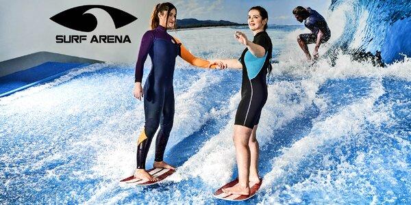 Škola surfu: 5x hodinová lekce v Surf Areně
