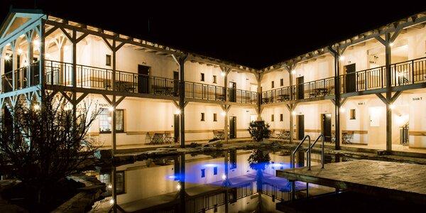 Romantika u zámku Bojnice: polopenze i bazény