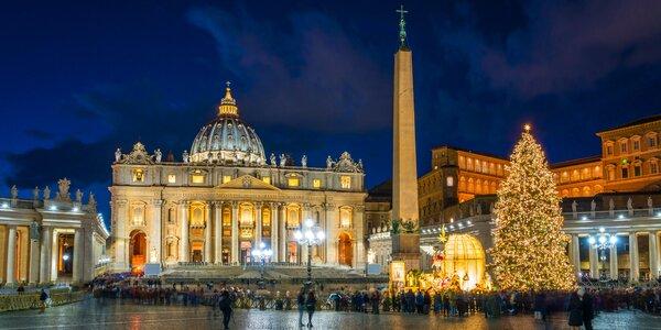 Adventní zájezd do Říma a Vatikánu s přenocováním