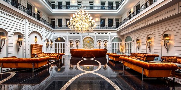 Luxusní hotel v centru Budapešti s wellness