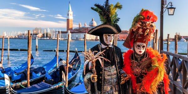 Vyhlášený benátský karneval s odjezdem z Čech
