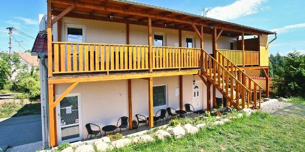 Penzion u Mikulova: vinný sklípek i půjčení kol