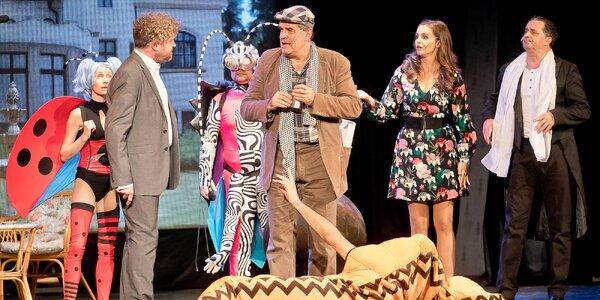 Vstupenka na muzikál Trhák v Divadle Broadway