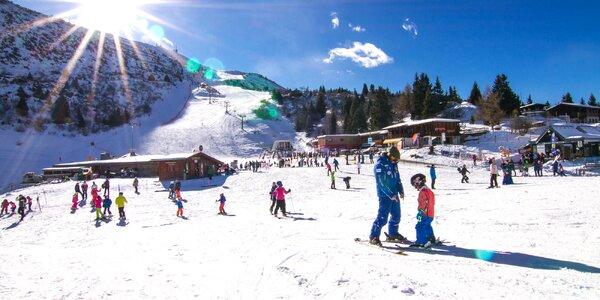 Na lyže do Itálie: 3 noci v hotelu, jídlo, skipas