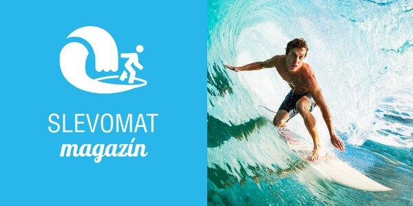 Chyťte svou vlnu na surf simulátoru!
