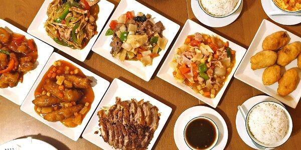 Voucher do asijské restaurace: 300 nebo 500 Kč