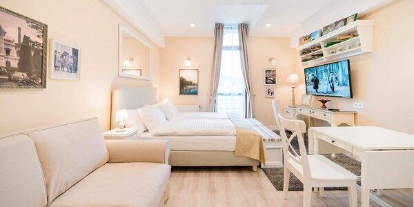 Luxusní apartmány v lázeňském městě na západě Čech