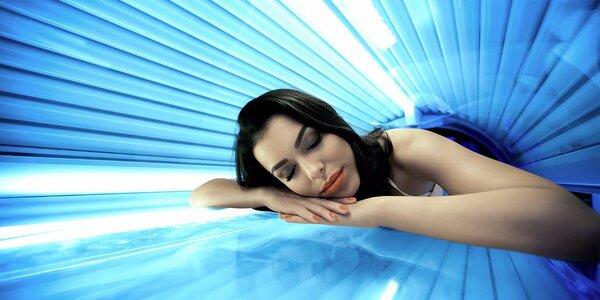 Permanentka do solária: 100–300 minut opalování
