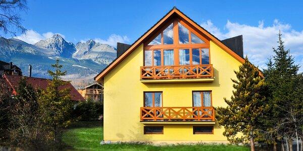 Vysoké Tatry pro 2 či partu: snídaně i minigolf