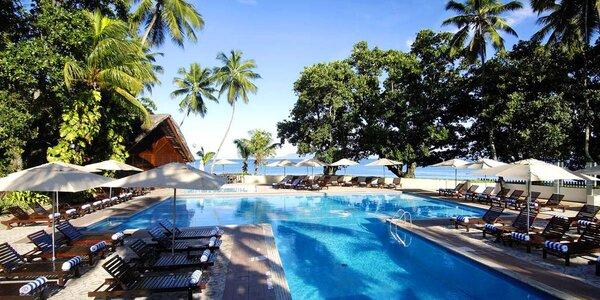 3* Berjaya Beau Vallon Bay Resort s polopenzí
