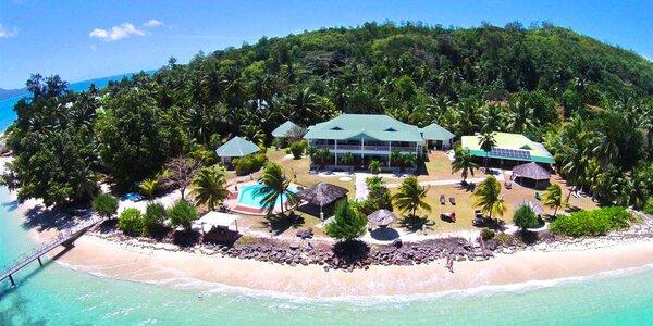 3* hotel L'Habitation Cerf Island s polopenzí