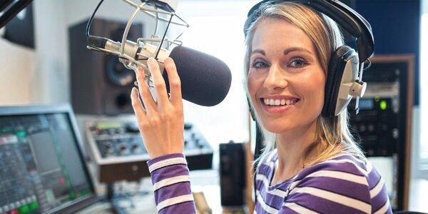 3denní kurz moderování včetně živého vysílání